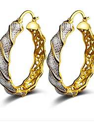 cheap -Women's Hoop Earrings - Fashion Gold For Party / Daily