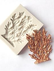 Недорогие -Инструменты для выпечки кремнийорганическая резина / Силикон 3D / Своими руками Печенье / Шоколад / Для приготовления пищи Посуда Формы для пирожных 1шт