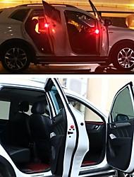 Недорогие -2pcs LED Night Light Красный Автопереключение Безопасность Экстренная ситуация Автомобильные светодиоды Украшения для автомобиля Дверная