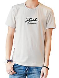 povoljno -Majica s rukavima Muškarci - Osnovni Ulični šik Dnevno Jednobojni Prugasti uzorak Print