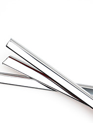 baratos -10 PCS Prata Adesivos Decorativos para Carro Negócio Guarnição da janela Não Especificado Guarnição da janela
