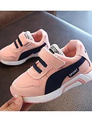 preiswerte -Mädchen Jungen Schuhe Tüll Frühling Komfort Sneakers für Normal Draussen Weiß Schwarz Rosa