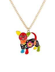 Недорогие -Муж. Крупногабаритные Собаки Ожерелья с подвесками  -  Животные Крупногабаритные Мода Цвет радуги 65cm Ожерелье Назначение Для вечеринок
