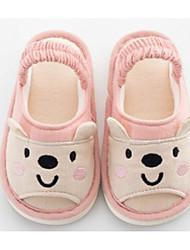 baratos -Para Meninas Para Meninos Sapatos Tecido Inverno Conforto Chinelos e flip-flops para Casual Cinzento Claro Azul Rosa claro