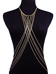 cheap -Belly Chain / Necklace Belly Chain - Women's Gold Sexy / Fashion / Bikini Body Jewelry For Bikini / Going out