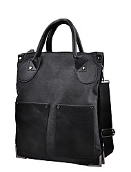 cheap -Men's Bags Canvas Tote Beading Black / Brown