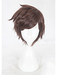 Недорогие -Косплэй парики Косплей Косплей Коричневый Аниме Косплэй парики 12 дюймовый Термостойкое волокно Все Хэллоуин парики