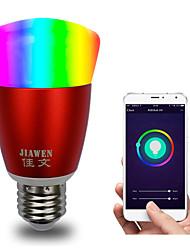 Недорогие -e27 rgbw smart wifi bulb 16 миллионов цветов управление приложением dimmable led light bulb работает с alexa google home ac85-265v