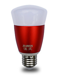 economico -JIAWEN 1pc 6W 480lm E26 / E27 Lampadine LED smart 30 Perline LED SMD 3528 Smart Oscurabile Controllo APP 85-265V
