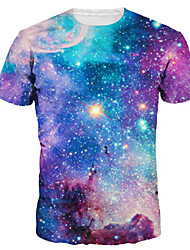 preiswerte -Herrn Einfarbig - Aktiv Grundlegend T-shirt Druck