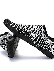 Недорогие -Муж. Легкие подошвы Спандекс Лето Удобная обувь Спортивная обувь Для плавания / Дышащая спортивная обувь Серый / Желтый / Синий