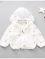 cheap -Baby Girls' Print Long Sleeves Jacket & Coat