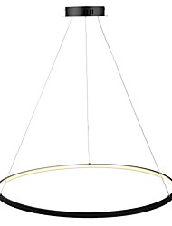 cheap -Ecolight™ Circular Pendant Light Ambient Light - LED, 110-120V / 220-240V, Warm White / White / Dimmable With Remote Control, LED Light