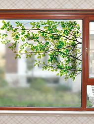 Недорогие -Оконная пленка и наклейки Украшение Современный С принтом ПВХ Стикер на окна Матовая