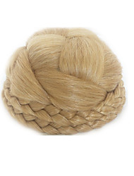 cheap -Light Blonde Classic / Retro Hair Bun Comfy Other Tools / Hair Piece Drawstring Synthetic Hair Hair Piece Hair Extension Classic / Retro