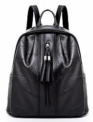 abordables -Femme Sacs Similicuir sac à dos Fermeture Noir