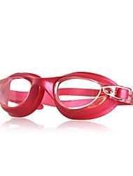 baratos -Óculos de Natação Óculos de Natação Retratável Natação Policarbonato Policarbonato Preto Azul Fúcsia Vermelho Preto Azul