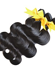 cheap -Mongolian Hair / Body Wave Body Wave Virgin Human Hair Gifts / Brands Outlet 3 Bundles Human Hair Weaves Hot Sale / For Black Women / 100% Virgin Natural Black Human Hair Extensions All / Adults'
