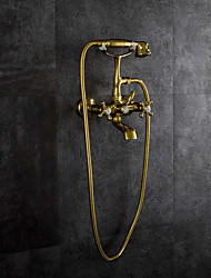 cheap -Bathtub Faucet - Antique Ti-PVD Wall Mounted Brass Valve