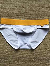 baratos -Homens Cuecas Sólido Cintura Baixa