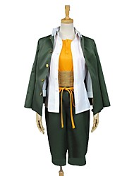 cheap -Inspired by Dangan Ronpa Cosplay Anime Cosplay Costumes Cosplay Suits Other Long Sleeves Coat Shirt Top Pants More Accessories Sash /