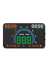 abordables -E350 5.6 Zoll LED Con Cable Encabezar pantalla Indicador LED Despertador Alarma de alta temperatura Alarma de baja tensión Pantalla