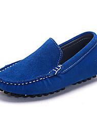 Недорогие -Мальчики / Девочки Обувь Нубук Весна / Осень Удобная обувь Мокасины и Свитер для Тёмно-синий