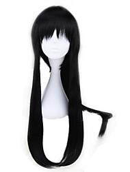 Недорогие -Косплэй парики Серый мужчина Черный Аниме Косплэй парики 30 дюймовый Термостойкое волокно Универсальные Хэллоуин парики
