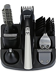 cheap -Kemei Hair Trimmers for Men and Women 100-240V Light and Convenient 5 in 1 Low Noise