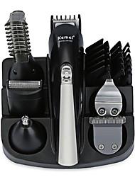 Недорогие -Kemei Триммеры для волос для Муж. и жен. 100-240 V Низкий шум / 5 в 1 / Легкий и удобный