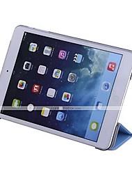 cheap -Case For Apple iPad iPad Mini 4 iPad Mini 3/2/1 iPad 4/3/2 iPad Air 2 iPad Air with Stand Auto Sleep / Wake Origami Full Body Cases Solid