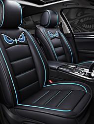 Недорогие -ODEER Чехлы для сидений Черный/Синий Кожа PU Мультяшная тематика for Универсальный Все года Все модели