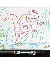 abordables -YIJIATOYS Jeu de Dessin Tablettes de Dessin Stylos Colorés Animaux Thème classique Fantastique Mode Dinosaure Famille Peinture Brillant