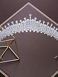 economico -Lega diademi with Con diamantini Cristalli 1pc Matrimonio Occasioni speciali Copricapo
