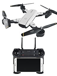 abordables -RC Drone VISUO SG700 4 canaux 6 Axes 2.4G 0.3MP/2.0MP 480P/720P Quadri rotor RC Retour Automatique / Mode Sans Tête / Vol Rotatif De 360