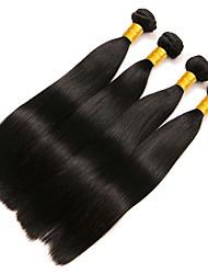 cheap -Malaysian Hair Straight Human Hair Weaves 50g x 4 Hot Sale / Extention Human Hair Extensions All Christmas Gifts / Christmas / Wedding