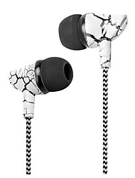 cheap -In Ear Wired Headphones Dynamic Plastic Mobile Phone Earphone with Microphone Headset