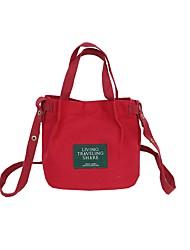 cheap -Women's Bags Cloth Shoulder Bag Zipper Floral Print Dark Green / Sky Blue / Khaki
