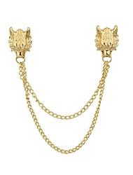 baratos -Mulheres Broches - Básico, Fashion Broche Dourado / Prata Para Diário / Encontro