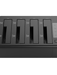 baratos -ORICO Gabinete do disco rígido Plástico ABS USB 3.0 ORICO 6648US3-C-BK