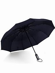 Недорогие -Пластиковые & Металл / Полиэстер / Нейлон Все Солнечный и дождливой / Ветроустойчивый Складные зонты