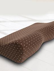 baratos -Qualidade Confortável-Superior Almofada de Pescoço de Memória Tecido Elástico Confortável Travesseiro Penas de Ganso Cinza Espuma de