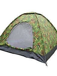 abordables -4 personnes Tente Tente de camping Extérieur Tente pliable Garder au chaud pour Camping / Randonnée Autre matériel 200*140*110cm