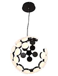 billiga -OBSESS® Glob Hängande lampor Glödande Målad Finishes Metall Ministil 110-120V / 220-240V Varmt vit / Kall vit LED-ljuskälla ingår / Integrerad LED / FCC