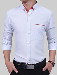 Недорогие -Муж. Рубашка Классический Горошек