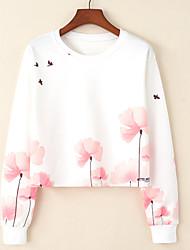preiswerte -Damen Grundlegend Pullover Hahnentrittmuster
