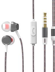 abordables -TG-035 Dans l'oreille Entrée Audio Ecouteurs Dynamique Aluminum Alloy Sport & Fitness Écouteur Casque