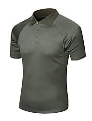preiswerte -Herrn T-Shirt für Wanderer Außen Schnelles Trocknung Rasche Trocknung Schweißableitend Atmungsaktivität T-shirt N / A Camping & Wandern