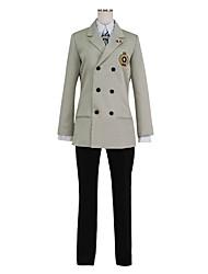 baratos -Inspirado por Série Persona Fantasias Anime Fantasias de Cosplay Ternos de Cosplay Outro Manga Longa Casaco Camisa Calças Luvas Gravata