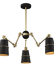 Недорогие -JLYLITE 3-Light Спутник Люстры и лампы Рассеянное освещение - Мини, 110-120Вольт / 220-240Вольт Лампочки не включены / 30-40㎡ / E12 / E14